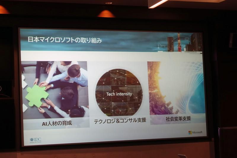 日本マイクロソフトの取り組み