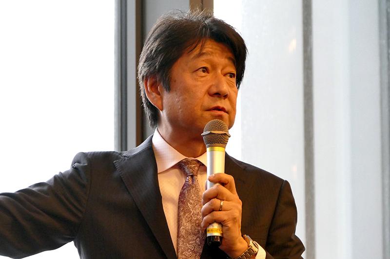 日本ビソー株式会社 本設ゴンドラ事業本部 技術統括部 部長 道越正大氏