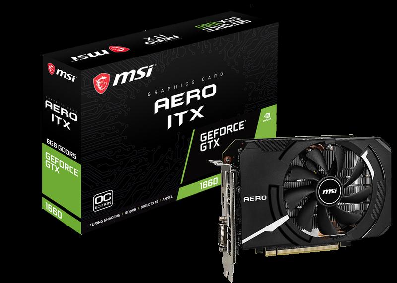 GeForce GTX 1660 AERO ITX 6G OC