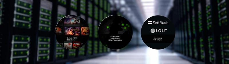 最初のパートナーは日本のソフトバンクと韓国のLG U+