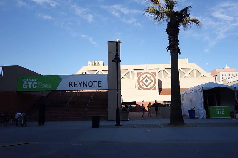 GTC2019のキーノートスピーチが行なわれたSJSU(San Jose State University)