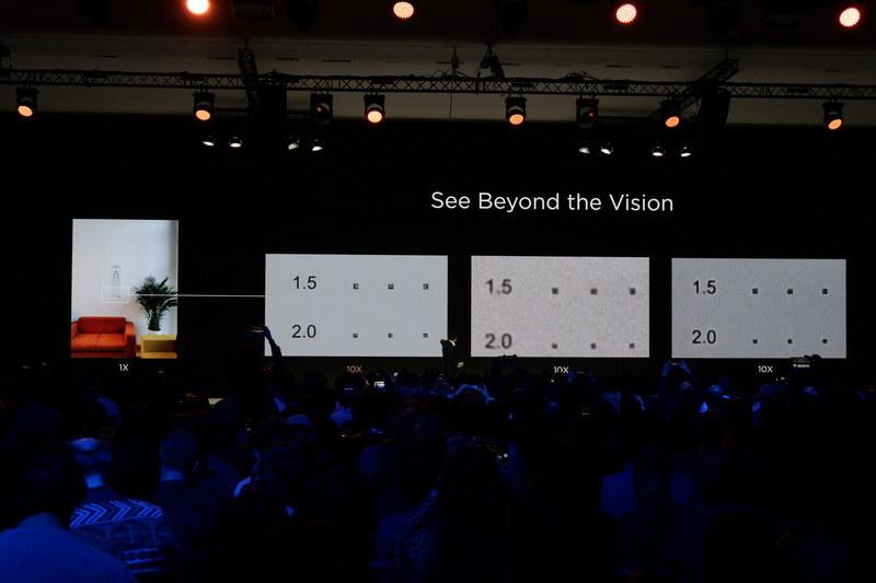 左がP30 Proで撮影した写真だが、10倍望遠時でもぼやけずくっきり撮影できている