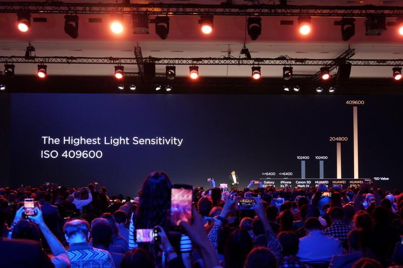 P30 Proでは最大でISO 409,600という超高感度撮影が可能