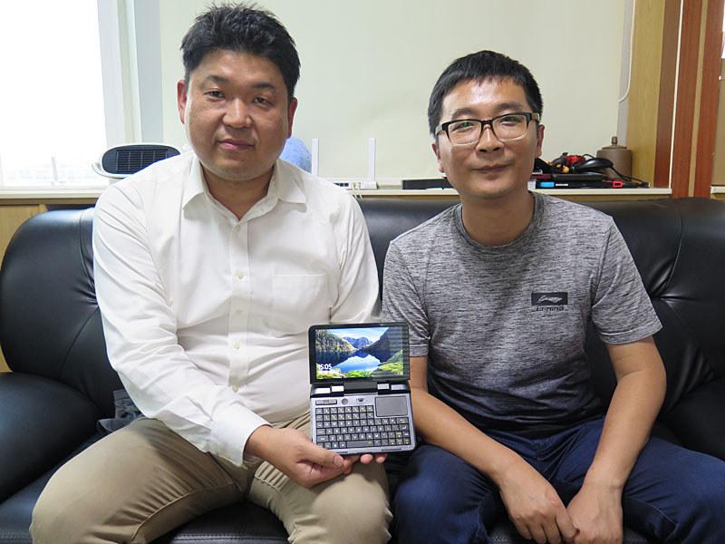 GPDのWade社長(右)と天空の山田社長(左)