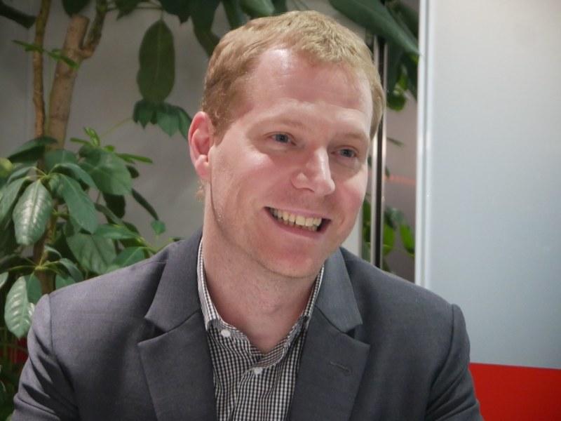 NECパーソナルコンピュータ(NEC PC)の代表取締役執行役員社長およびLenovo Groupグローバル バイスプレジデント兼レノボ・ジャパン 代表取締役社長のデビット・ベネット(David Bennett)氏
