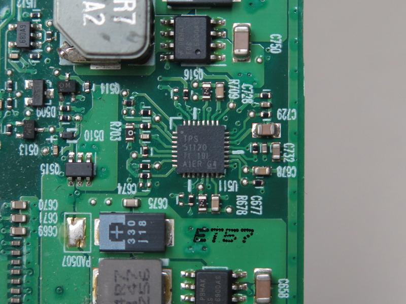 Texas Instrumentsのデュアルシンクロナスステップダウンコントローラ「TPS51120」