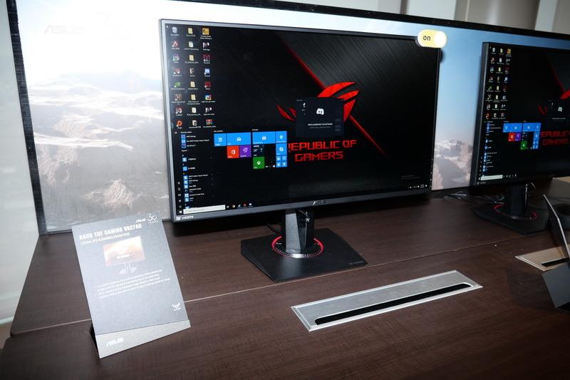 ASUS独自の同期技術「ELMB-Sync」に対応するゲーミング液晶「TUG Gaming VG27AQ」