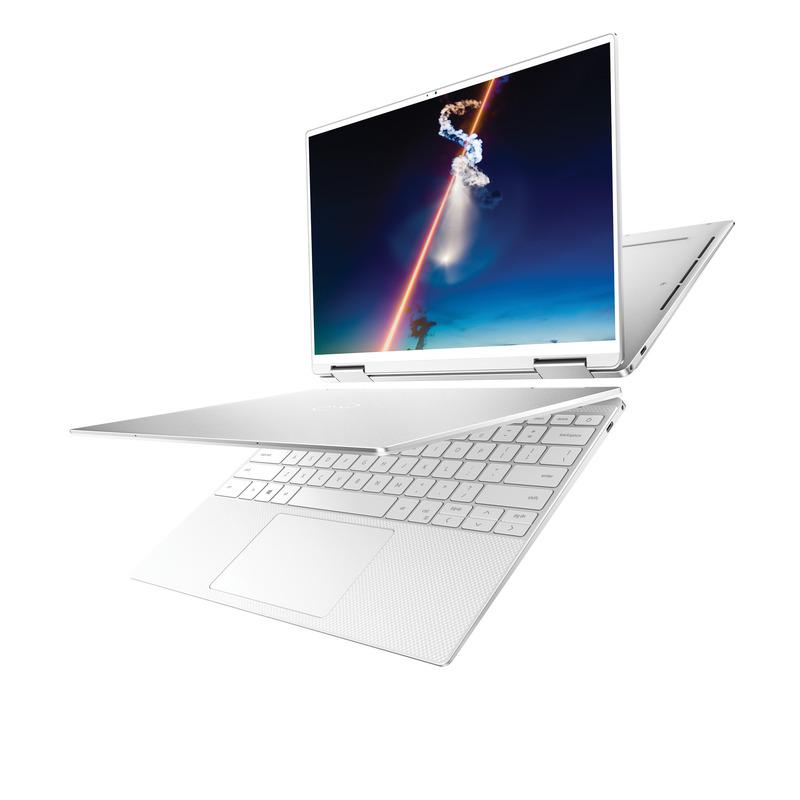 アーティックホワイトのXPS 13 2-in-1(7390)(写真提供 : Dell)