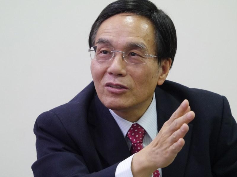 シャープ 会長兼社長の戴正呉氏