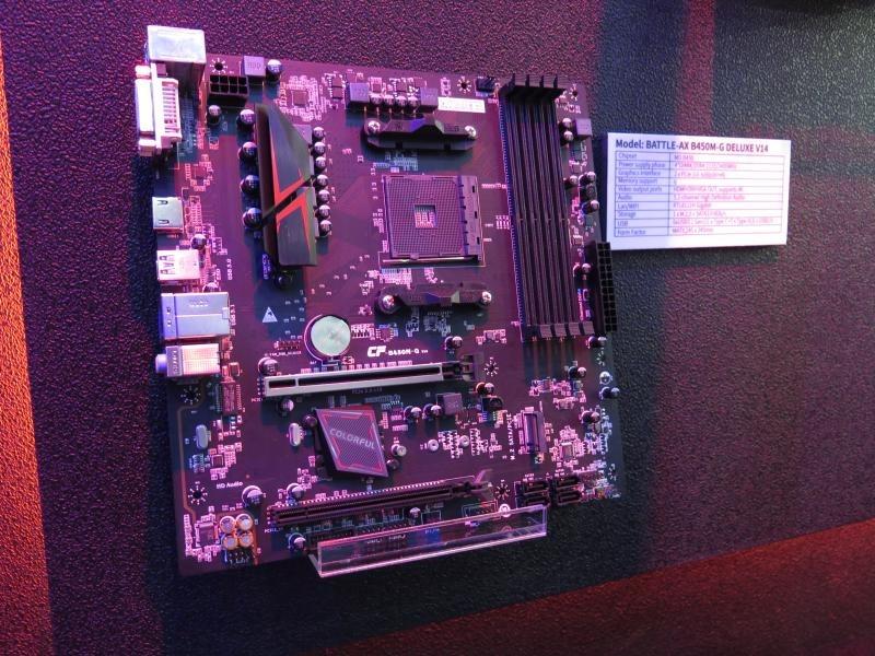 AMDプラットフォーム向けにはB450も投入する