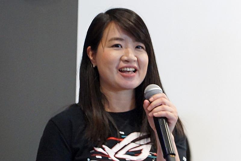 ASUS JAPAN システムビジネス事業部 マーケティング部 部長のCynthia Teng氏