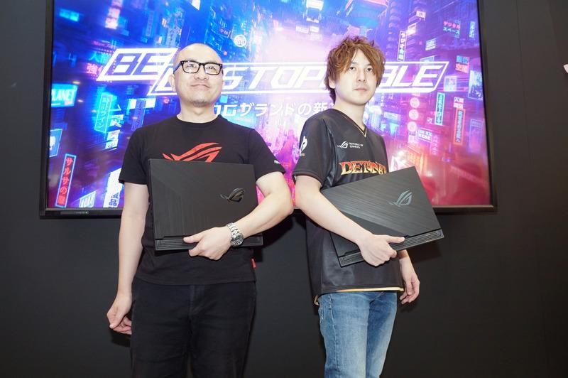 DeToNator代表の江尻勝氏と、ストリーマーのYamatoN選手