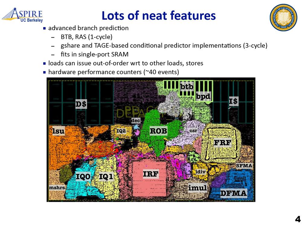 RISC-VのオープンソースコアBOOM2もTAGE分岐予測を採用