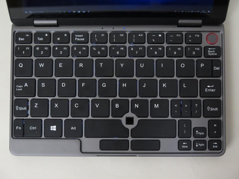 CHUWI自慢のキーボード