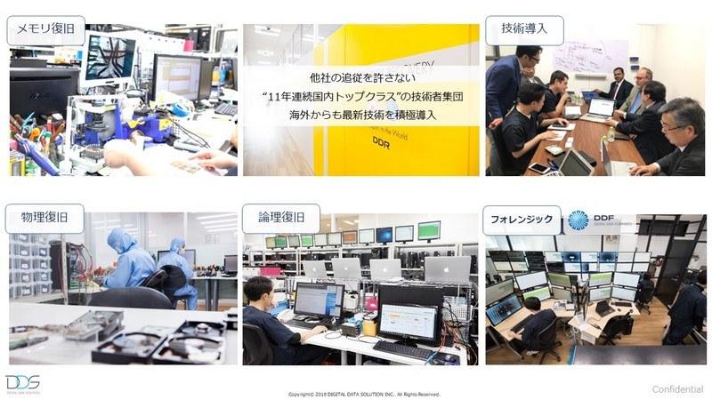 同社は、機器・症状などに分けた専門のエンジニアを抱えている