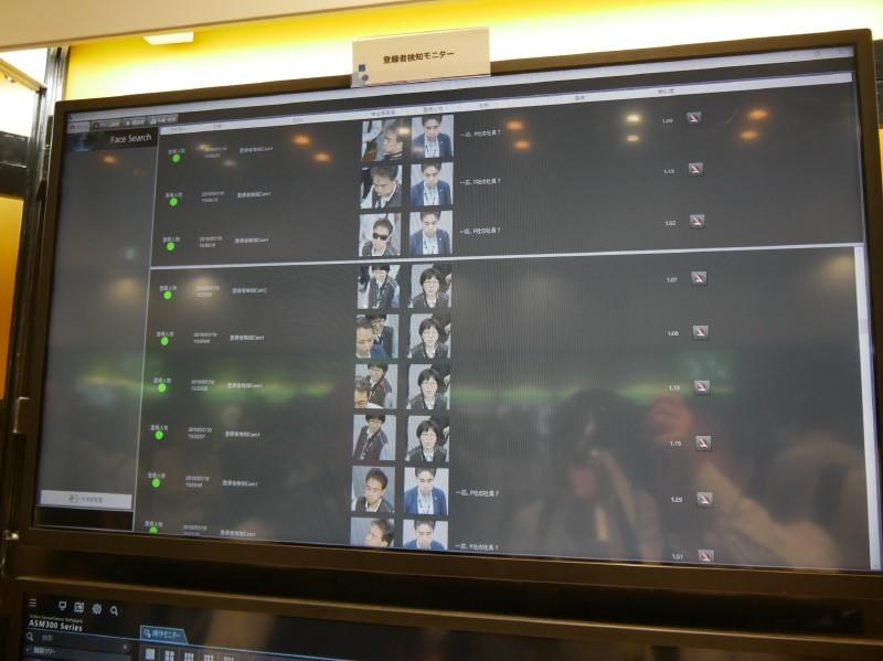 顔認証登録者・未登録者検知システム「Face Pro」。登録しているロイヤルカスタマーや不審者などを検知して、スタッフに通知するといった使い方ができる。マスクやサングラスをしていても検知できる