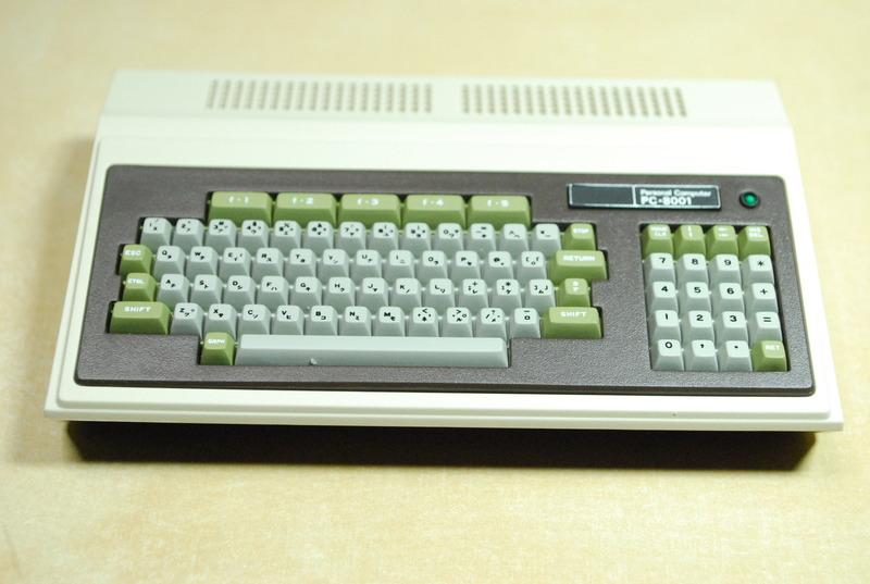 PC-8001 40周年記者発表会で入手したPasocomMini PC-8001