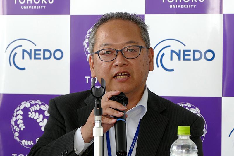 NNEDO ロボット・AI部 次世代人工知能・ロボット中核技術開発プロジェクトマネージャー 渡邊恒文氏