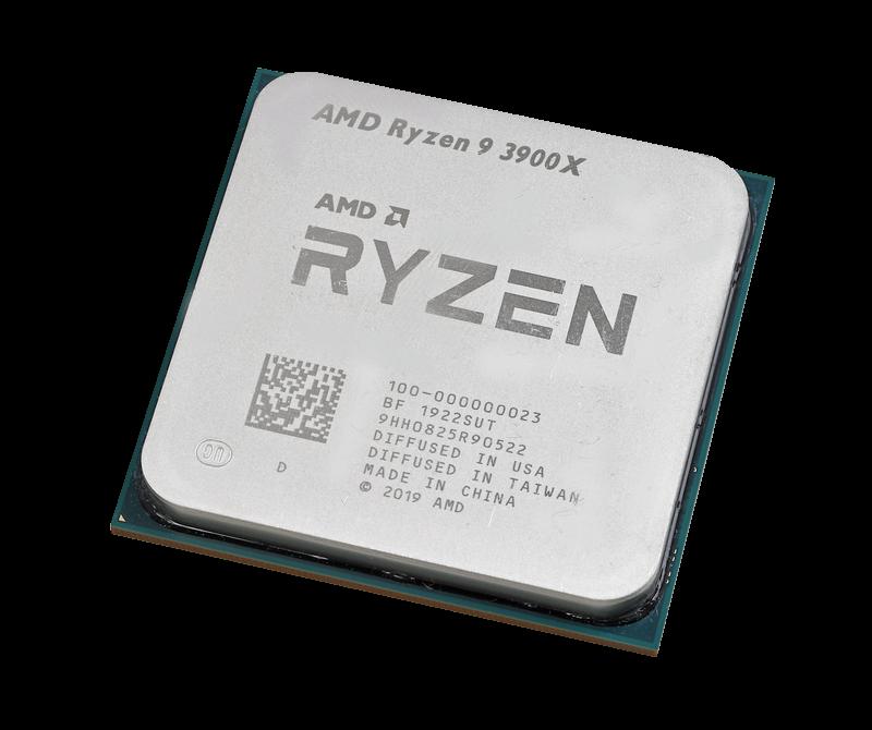 Ryzen 9 3900Xはマルチスレッドでは他を寄せ付けない12コアモデル。シングルスレッド性能も優秀だ