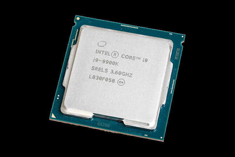 Core i9-9900Kはブースト時最大5GHz。マルチスレッド性能は見劣りするが、ゲーミングCPUとしては最有力