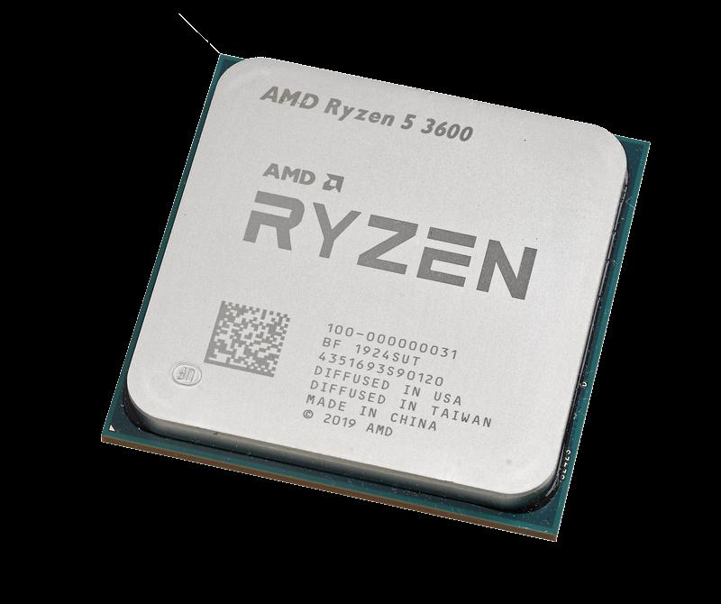 第3世代Ryzenのパワーはこのクラスでも目立つ。Ryzen 5 3600は上位の3600Xとの性能差が少なく、コスパの高さが際立つ
