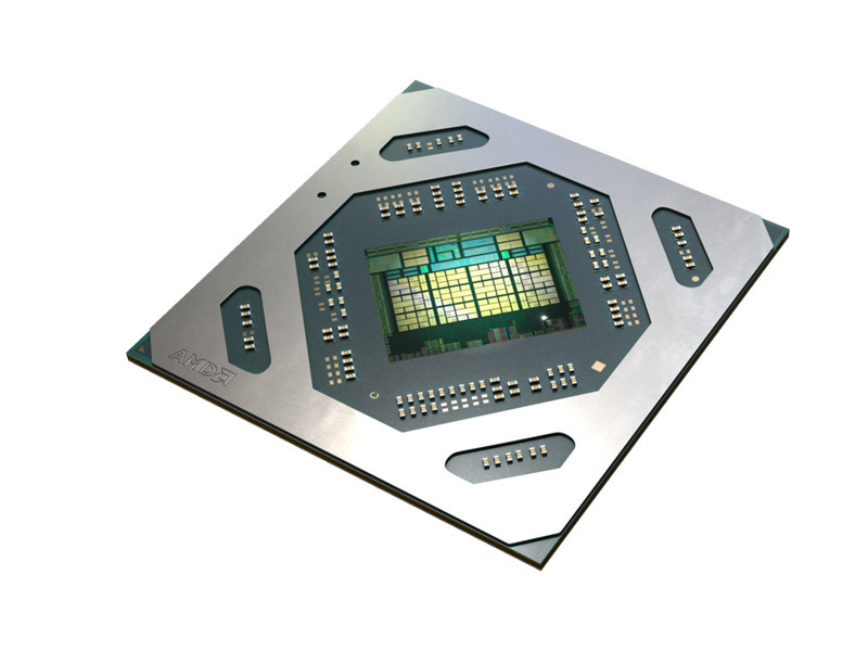 Radeon RX 5500のチップ