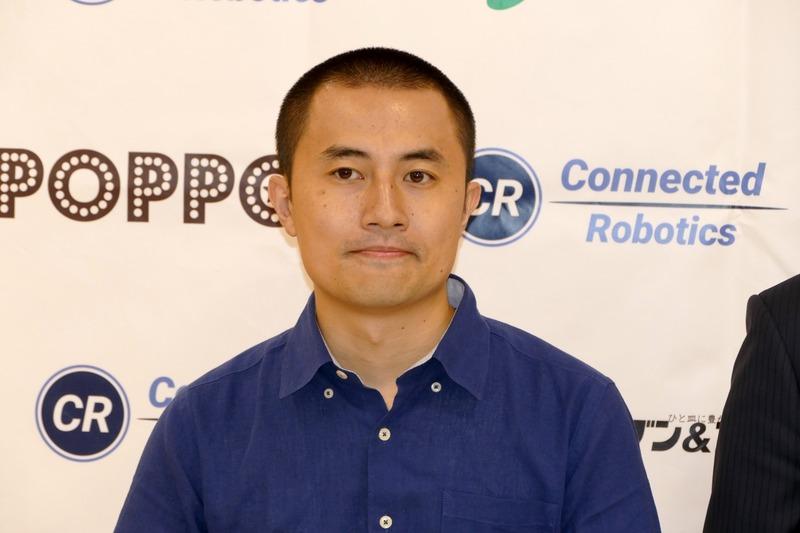 コネクテッドロボティクス株式会社 代表取締役 沢登哲也氏