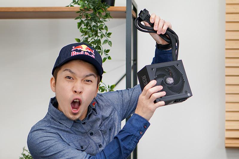 Cooler Master製650W電源「MPX-6501-AMAAB-JP」