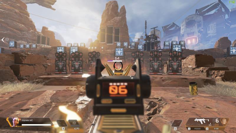 Apex Legendsは、フルHD解像度、高画質設定にて140fps前後で動作。© 2019 Electronic Arts Inc.