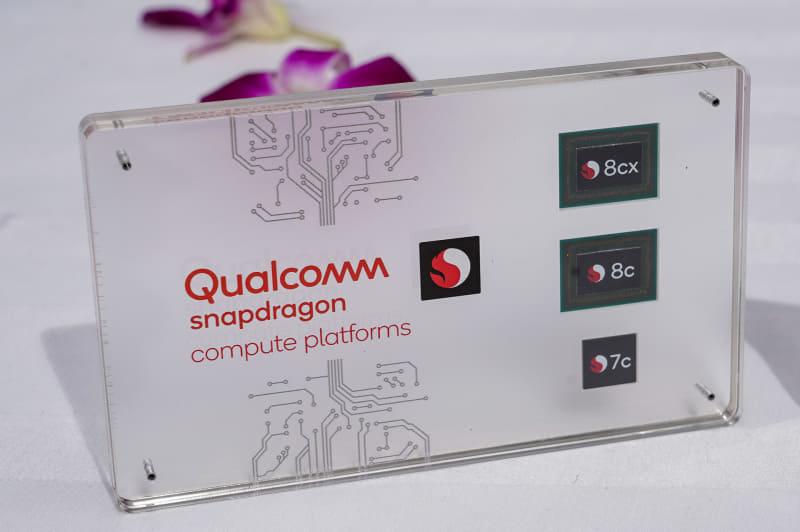 Snapdragon 8cx、Snapdragon 8c、Snapdragon 7c