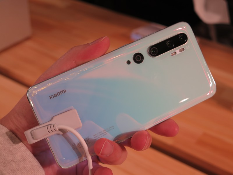 Mi Note 10実機