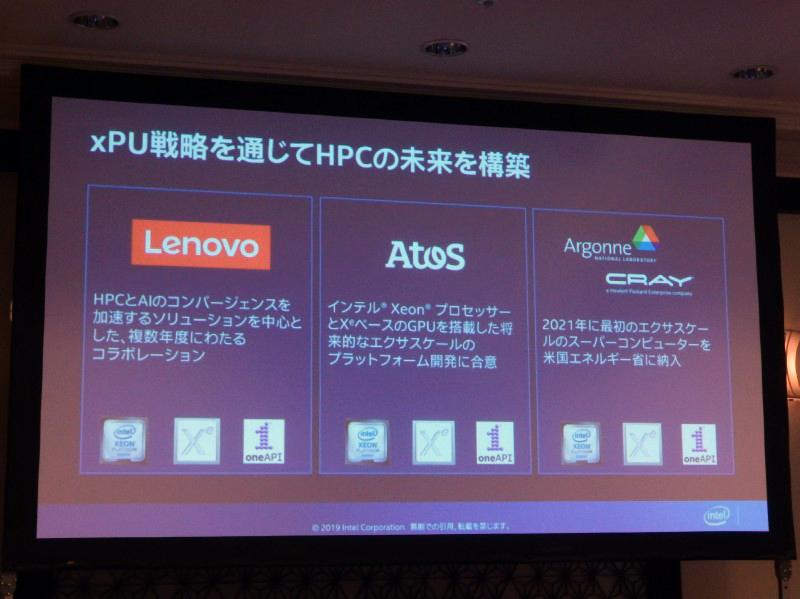 LenovoやAtosなどとも協業