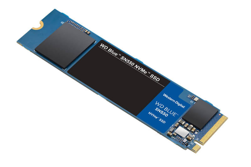 本インタビューの収録後、WD Blue SSDの新製品「WD Blue SN550 NVMe SSD」が発表された。高速化に加え、1TBモデルが追加されている