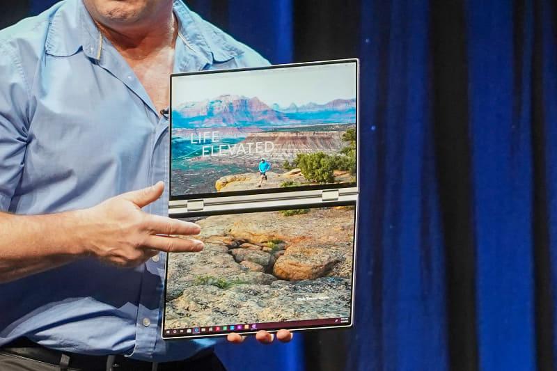 2画面コンセプトPC「Dell Concept Duet」