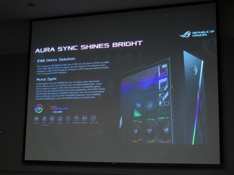 ライティングエフェクトはもちろんAura Sync対応。ビデオカードは垂直マウントに