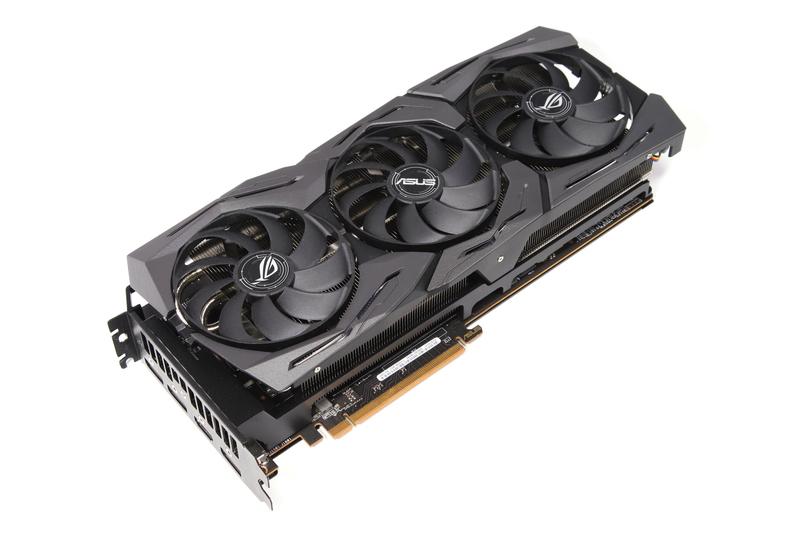 Radeon RX 5700 XT搭載ビデオカード「ASUS ROG-STRIX-RX5700XT-O8G-GAMING」