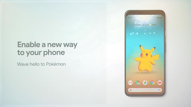 ポケモンと遊べるアプリも登場