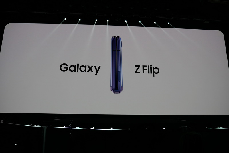 Galaxy UNPACKED 2020にで発表された、折りたたみ型スマートフォン新モデル「Galaxy Z Flip」