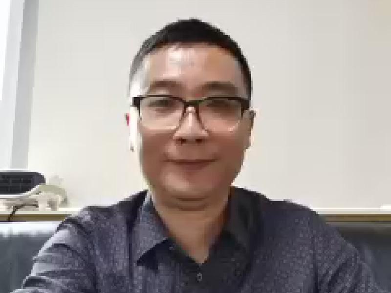 WeChatでインタビューに応じたWade社長