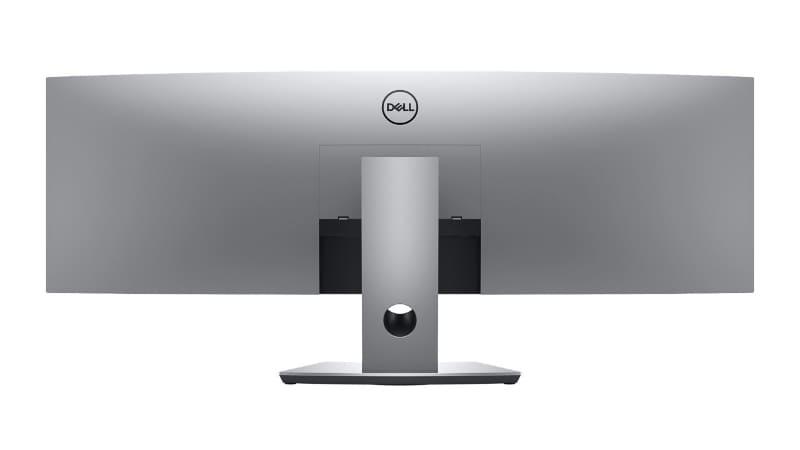 U4919DWの背面(出典 : Dell)