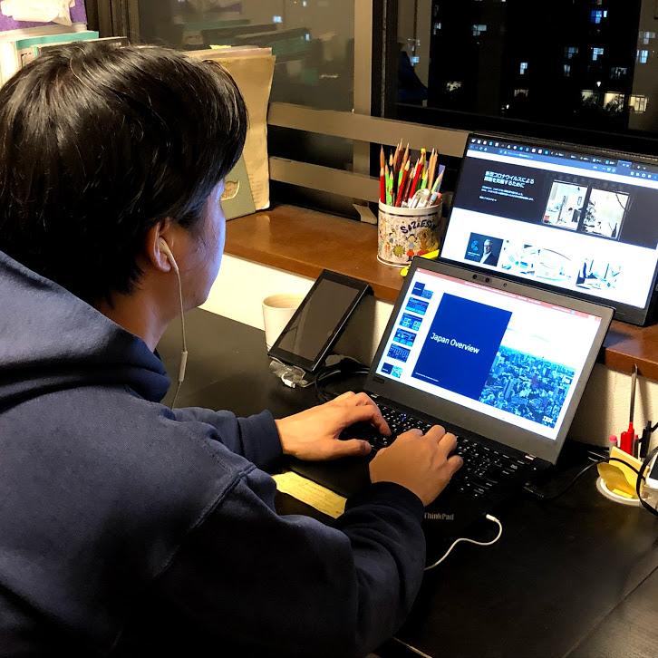 日本IBMでは数々のツールを活用しながらテレワークを行なっている