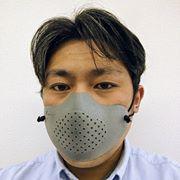 ラピセラが義肢装具士向けに配布している3Dプリントマスク ※写真は同社Facebookページ掲載のものを転載