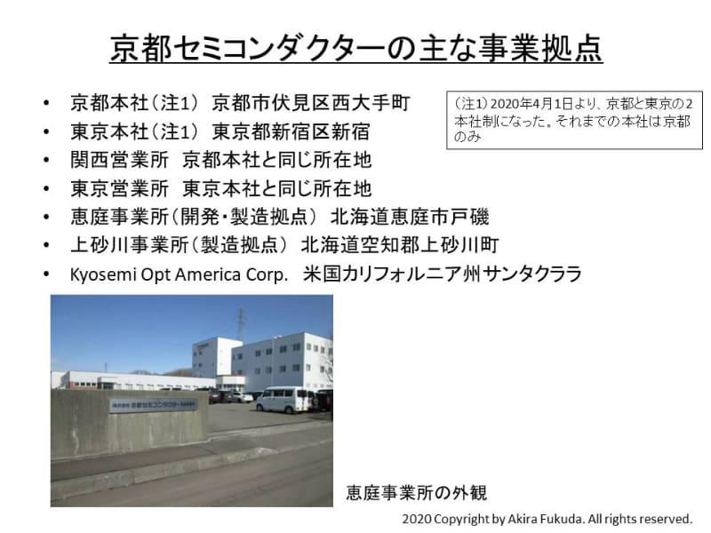 京都セミコンダクターのおもな事業拠点。写真は京都セミコンダクターが提供