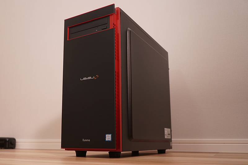 パソコン工房の「ガチくんモデル」の最上位機種「LEVEL-R040-LCi9K-XYVI-IeC [Windows 10 Home]」