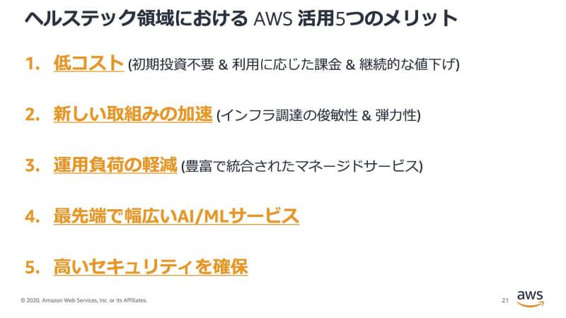 AWS活用の5つのメリット