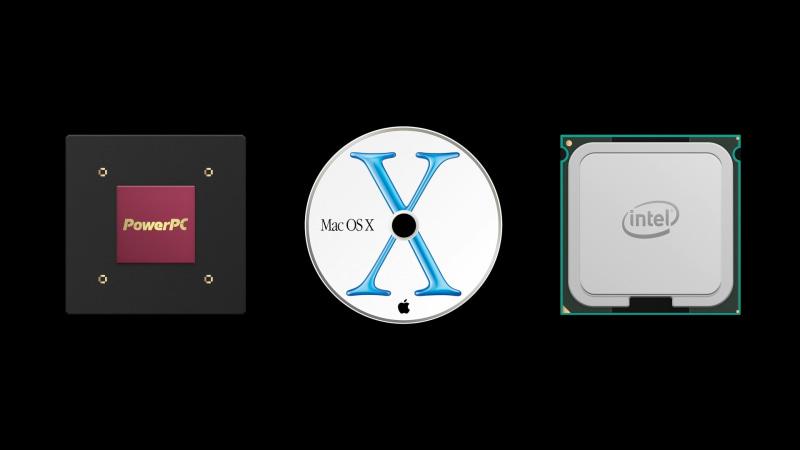 Apple Siliconは、PowerPC、Mac OS X、Intelという3つの大きな変遷に次ぐ4番目の改革