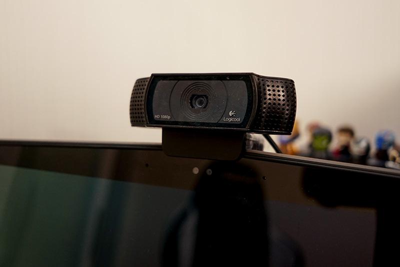 配信用のWebカメラ