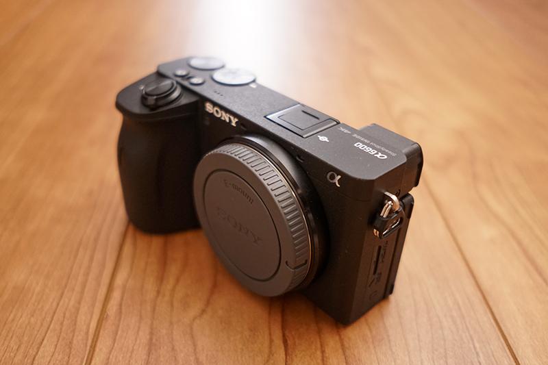 ソニーのミラーレスカメラ「α6600」