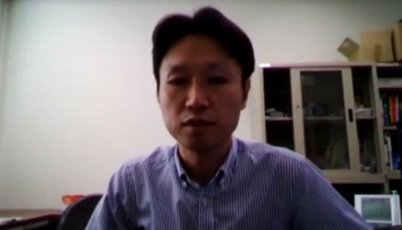 京都工芸繊維大学の山川勝史教授