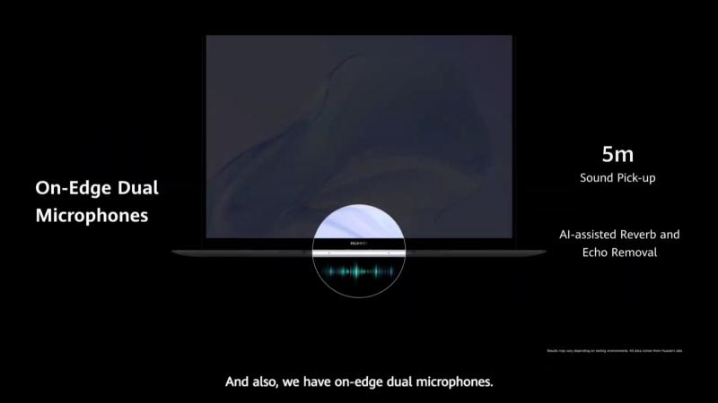 AI機能搭載のデュアルマイク